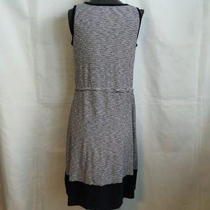 Talbots Dresses - Talbots Tank Dress Sz M Blue White Stripe Nautical